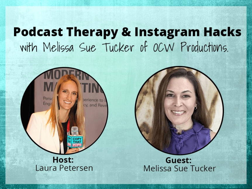 melissa sue tucker podcast interview on social media hacks like instagram and facebook