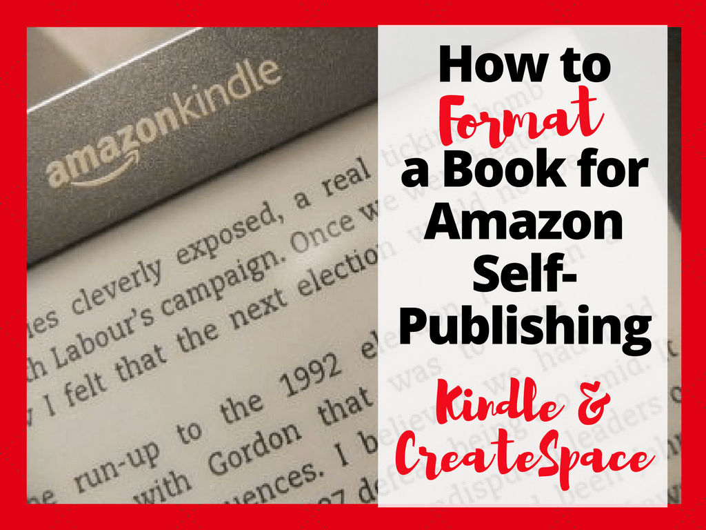 createspace formatted template - how to format a book for amazon self publishing