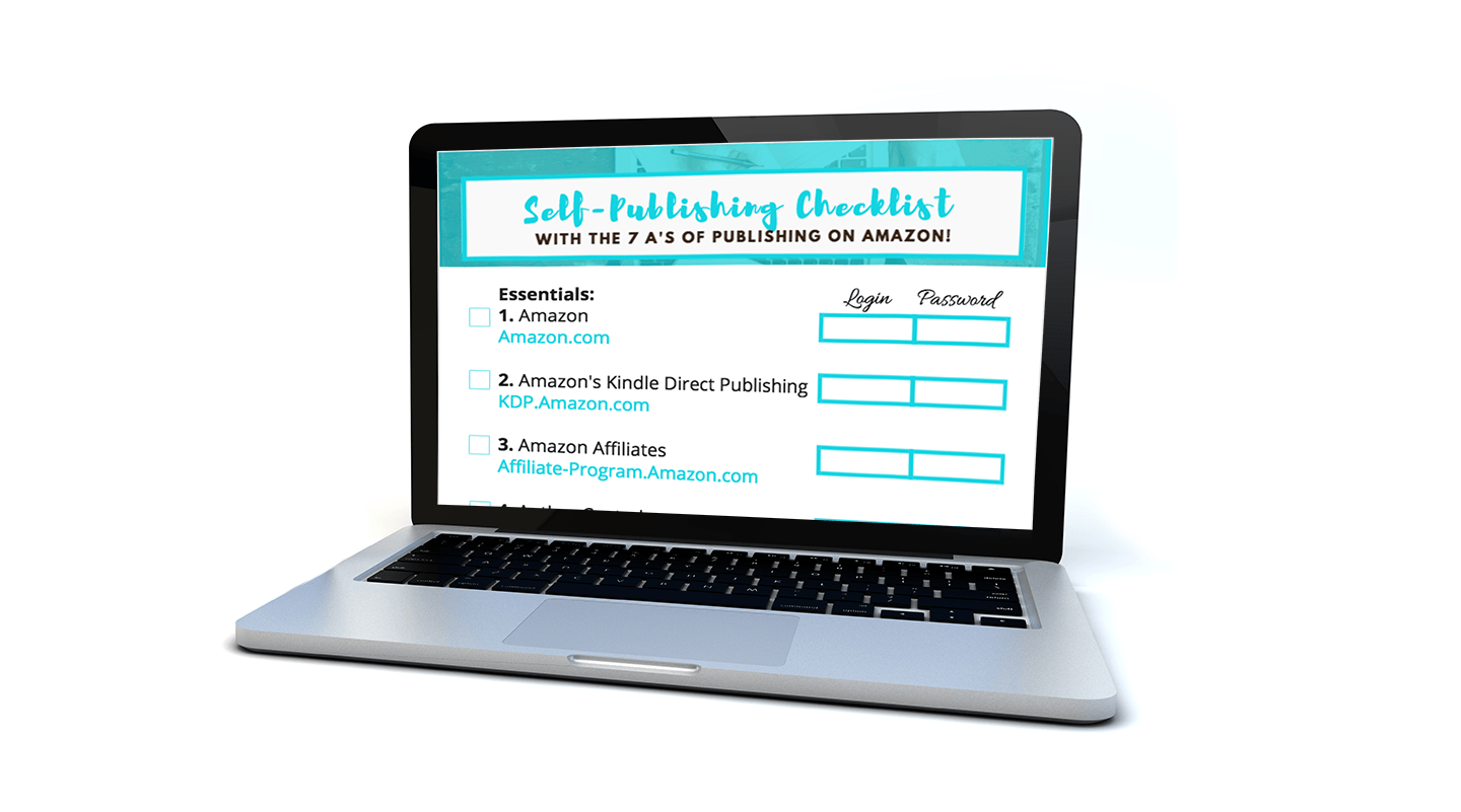 self publishing checklist for new book authors