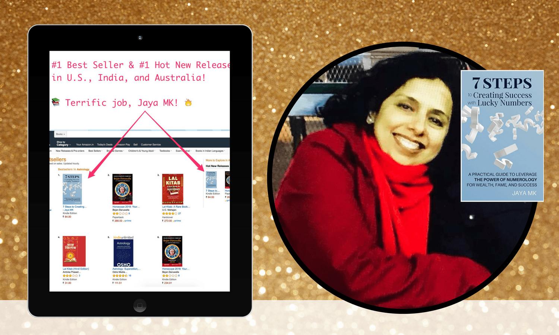 bestselling author jaya mk