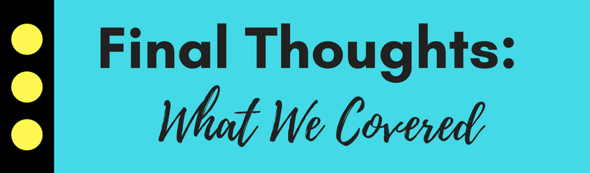Use Your Book To Grow Your Business, Final Thoughts: What We Covered | Laura Petersen, #1 Best Selling Author