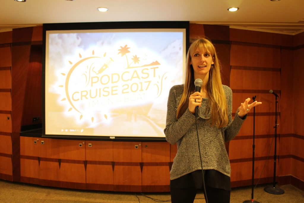 Podcast Cruise 2017 featuring Laura Petersen #1 Best Selling Author