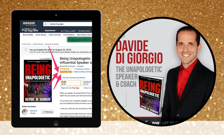 international bestselling author davide di giorgio