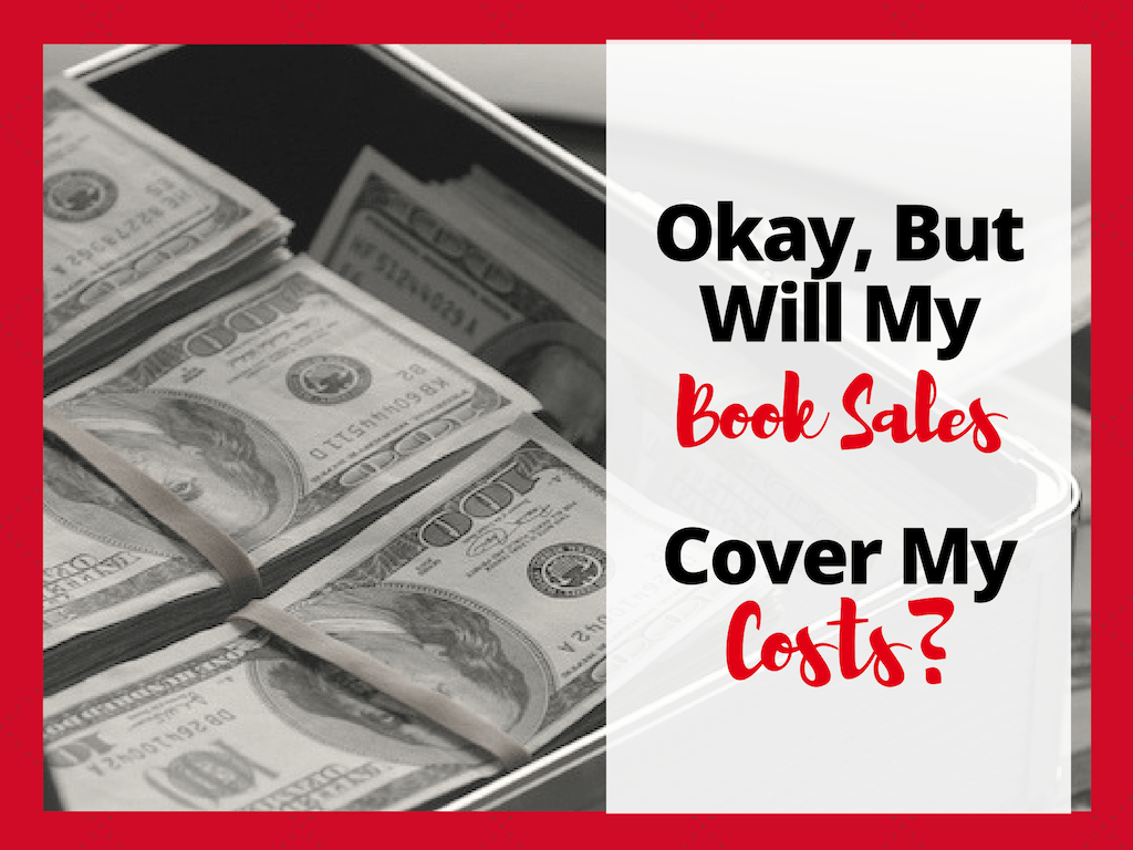 Book Cover Design Costs : Will my book sales on amazon cover costs of writing