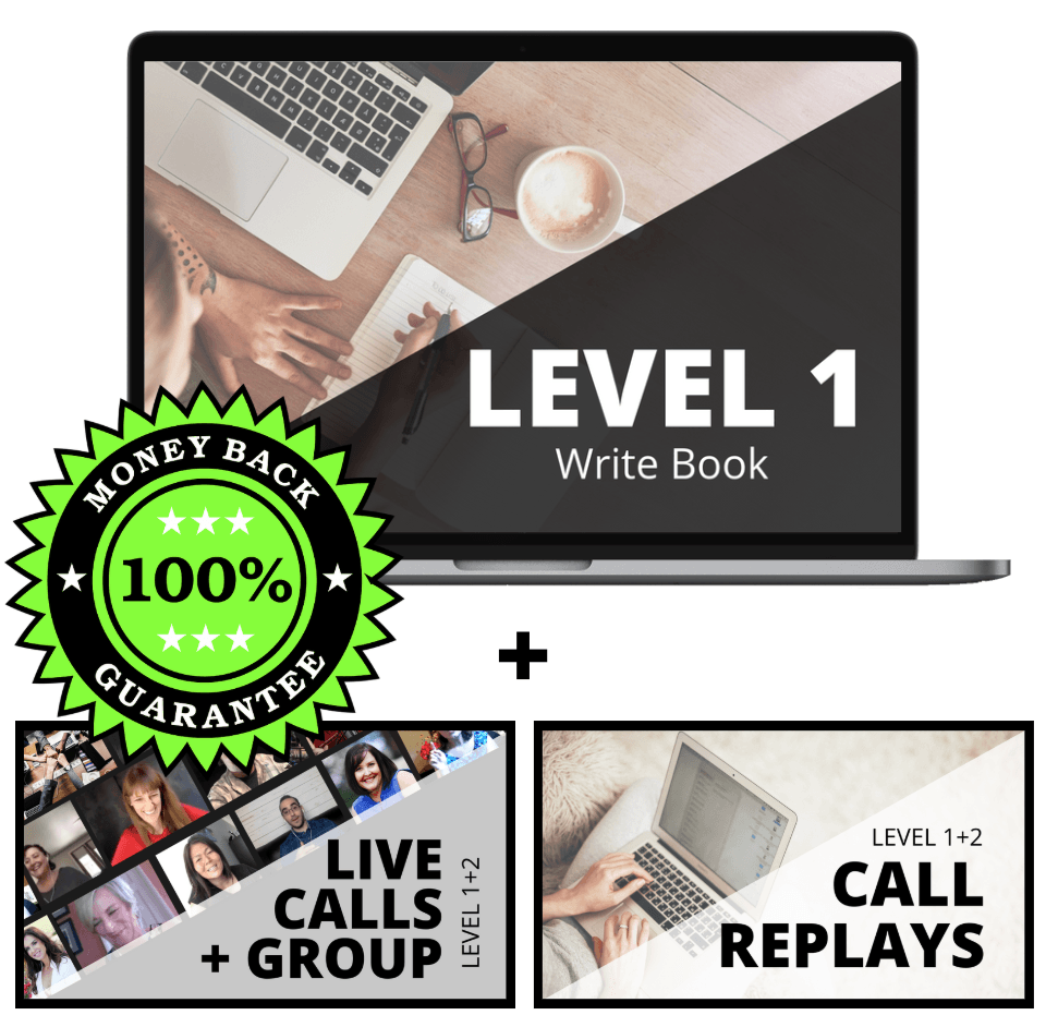 best selling book - start here with this free training
