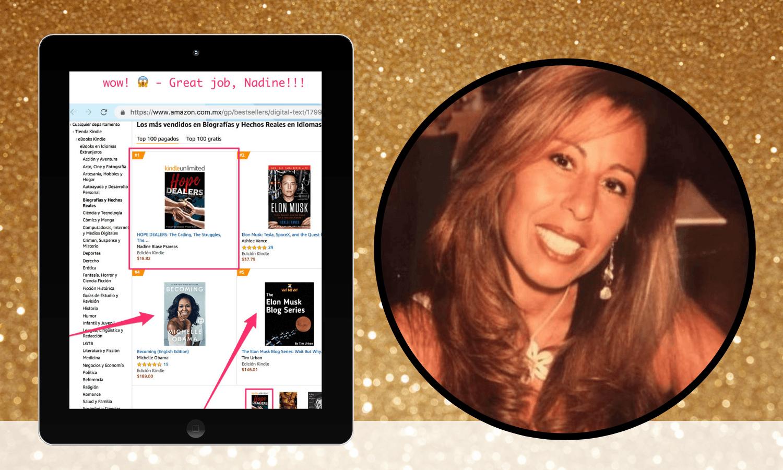 bestselling author nadine blase psareas